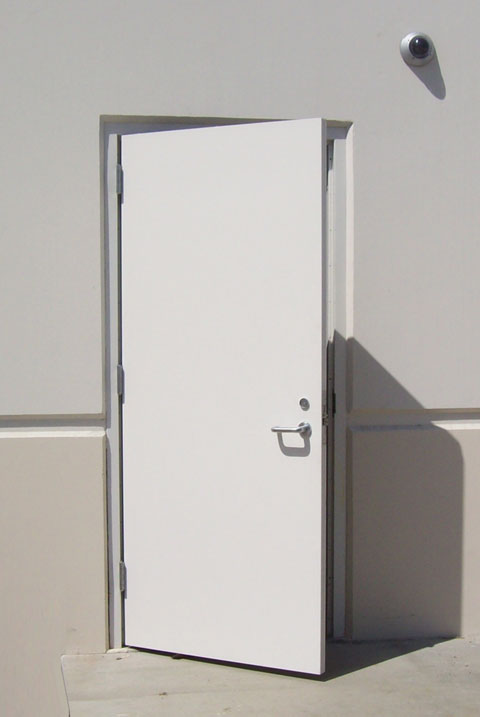 Home entrance door steel entrance doors commercial for Metal entry doors